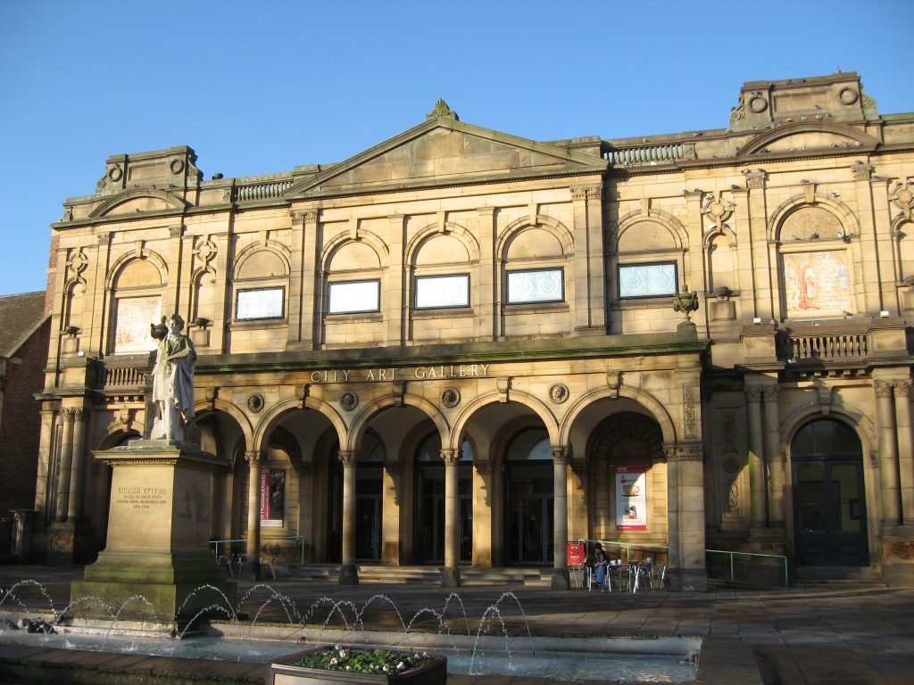 an image of York City Art Gallery from the front