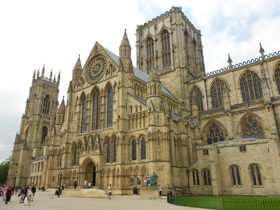 an image of the facade of York Minster