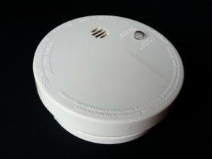 An image of a smoke alarm.